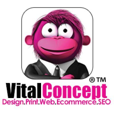 Vital Concept – Web, Design & Print